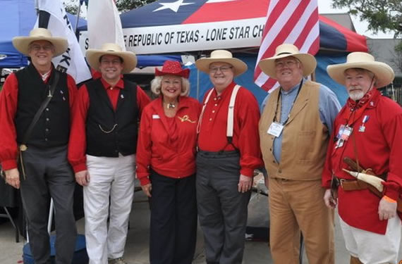 Republic of Texas volunteers mark state Independence Day